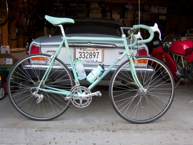 My most recent acquisition, A 1989 Bianchi Superleggera