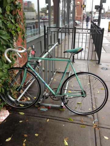 As much as I like to see bikes like this in all original condition I like the clean lines of a single speed setup