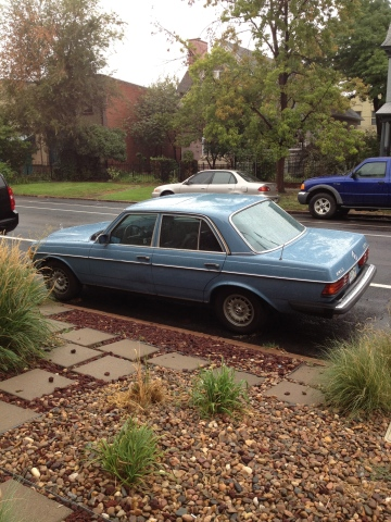 A lovely blue 240D