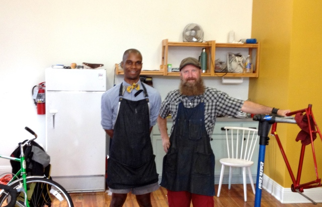 Gregory and TJ of Chocolate Spokes