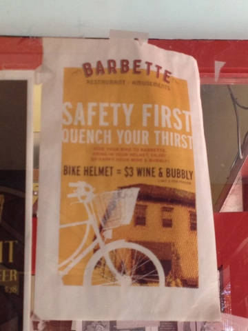 Barbette Happy Hour