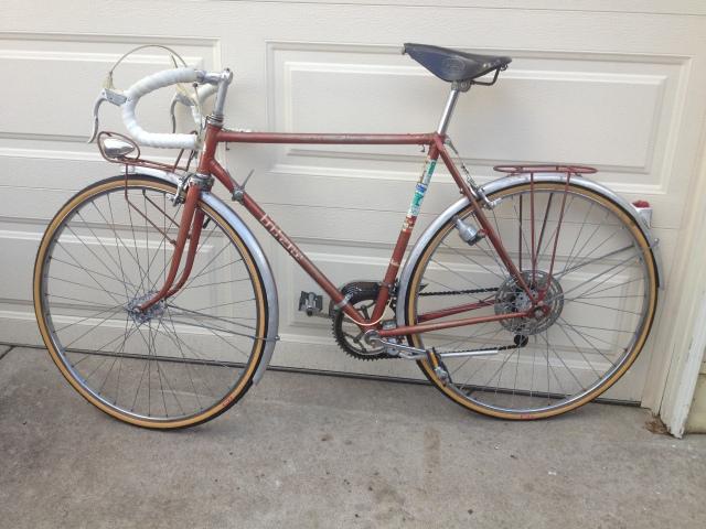 1964 Gitane Hosteller Project bike