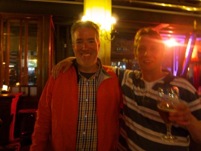 Rene and Tom and Beer
