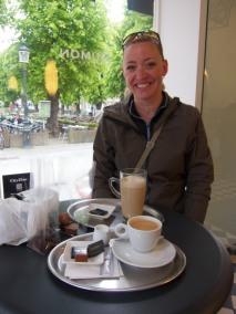 Beth in Cafe