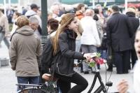 girl with flower bars