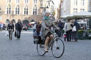 stylish Belgian lady