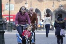 family on a bike