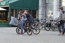 BMX couple